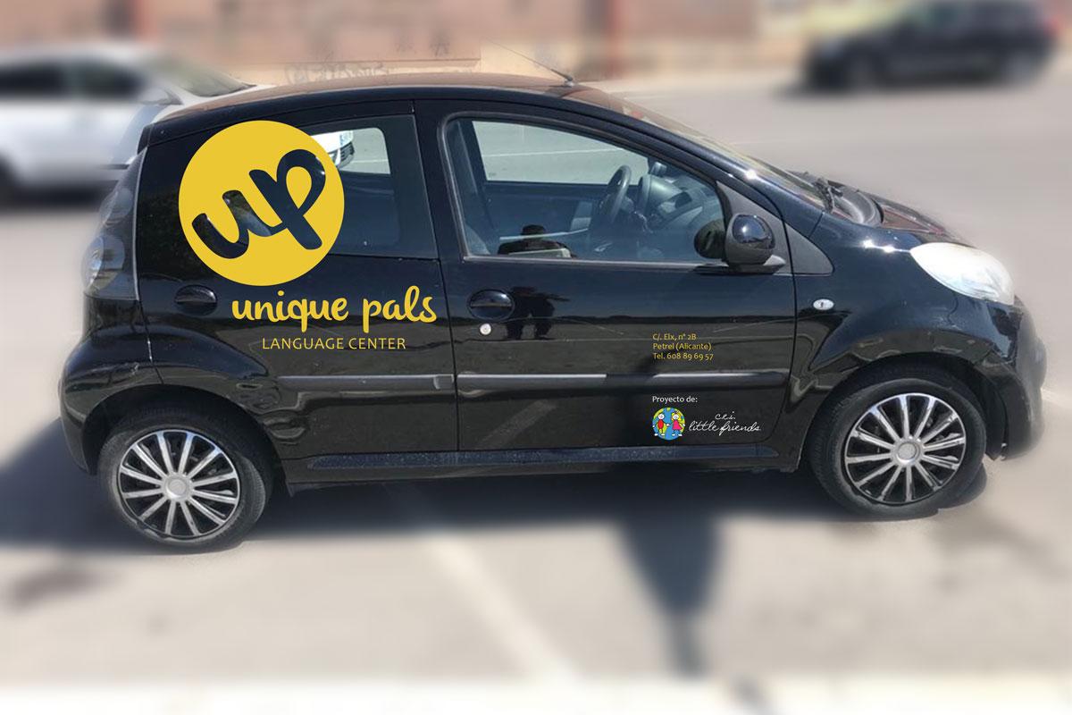 vehiculo unique pals
